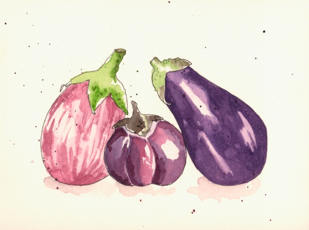 ... soupe d'aubergine (smoky eggplant soup) | One French Word