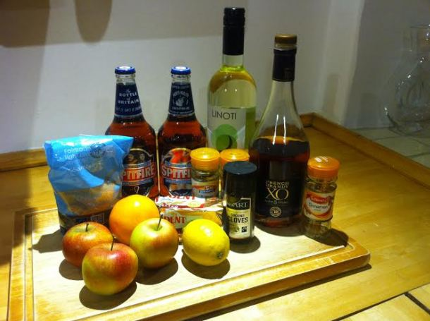Wassail main ingredients